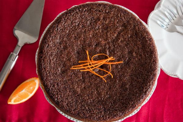 POMARANČOVÁ TORTA BEZ LEPKU A LAKTÓZY