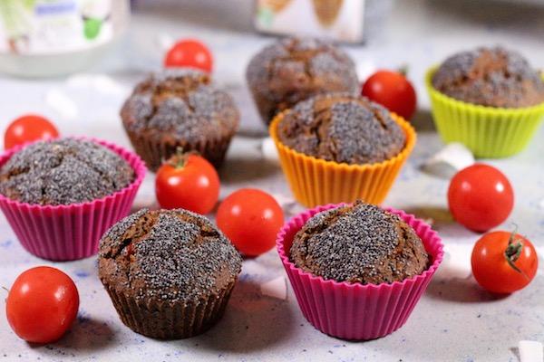 Vegánske mini muffiny